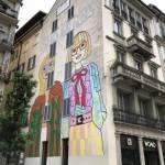 Gucci veste i muri Milano con opere di Angelica Hicks FOTO