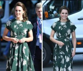 Kate Middleton look: con l'abito a fiori è impeccabile FOTO