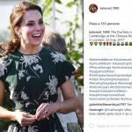 Kate Middleton look: con l'abito a fiori è impeccabile FOTO