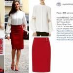 Letizia Ortiz più sensuale che mai: longuette e tacchi rossi FOTO