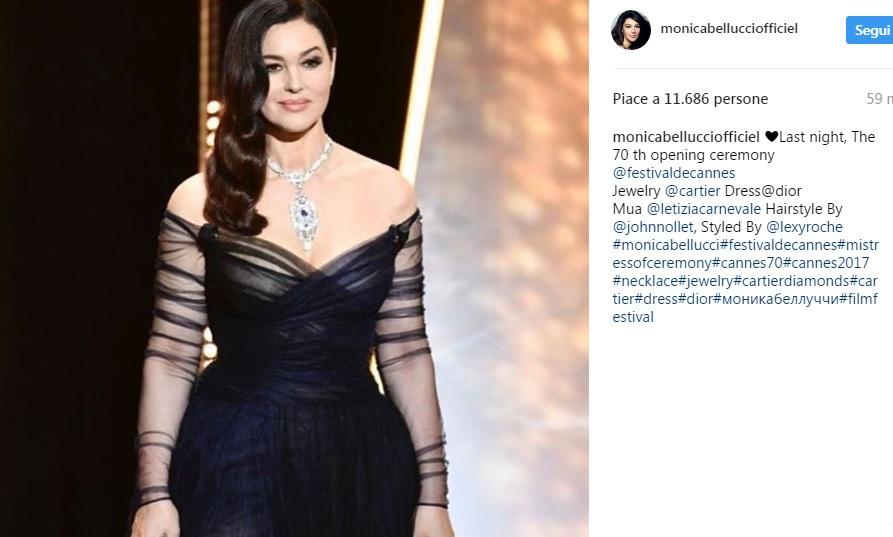 Cannes 2017: Monica Bellucci e Bella Hadid incantevoli FOTO