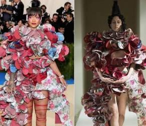 Met Gala, Rihanna sbaglia ancora look: abito bocciato FOTO
