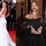 Cannes |  Rihanna total black  Adriana Lima sceglie il bianco