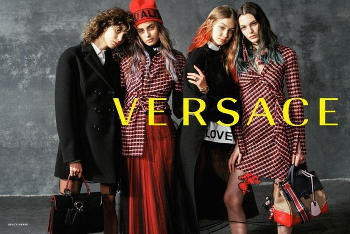 Versace, campagna in favore della pace by Bruce Weber FOTO