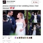 Jessica Chastain, chi è il marito: Gian Luca Passi de Preposulo