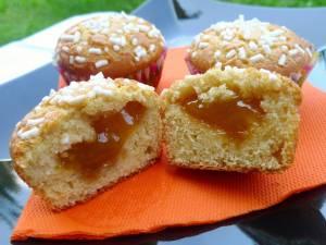 Muffins di Kamut con Cuore di Albicocca