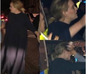 Adele piange in pubblico a Londra