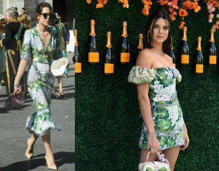 Charlotte Casiraghi, Kendall Jenner: passione verde FOTO