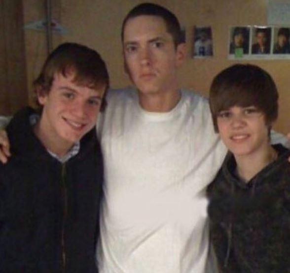 Justin Bieber e Eminem: su Instagram spunta una vecchia FOTO