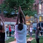 Yoga, Giornata Internazionale FOTO: Attrice indiana lo fa col pancione3