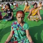 Yoga, Giornata Internazionale FOTO: Attrice indiana lo fa col pancione8