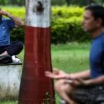 Yoga, Giornata Internazionale FOTO: Attrice indiana lo fa col pancione7