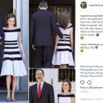 Kate Middleton, Letizia Ortiz: abito simile, stili diversi FOTO
