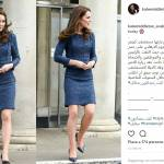 Kate Middleton in blu: ecco il suo abito preferito FOTO