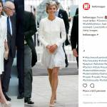 Letizia Ortiz e Kate Middleton in bianco: look a confronto FOTO