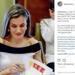 Letizia Ortiz più chic che mai in Carolina Herrera FOTO
