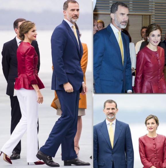 Letizia Ortiz sceglie il verde: look estivo per la regina
