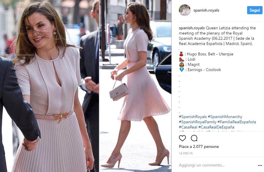 Letizia Ortiz e Kate Middleton: il rosa è sempre una certezza!