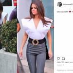 Selena Gomez scandalosa: maglia con scollatura laterale estrema