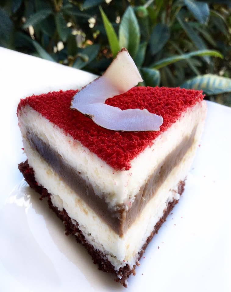 Torta Moderna Cocco e Gianduia