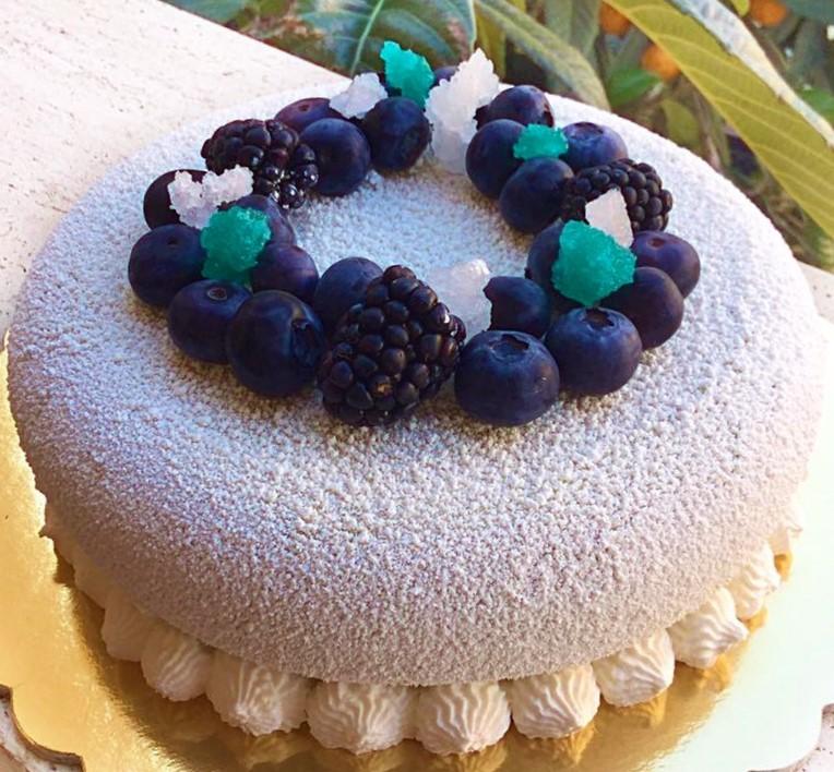 Blueberry Cake... Una vera delizia ai Mirtilli
