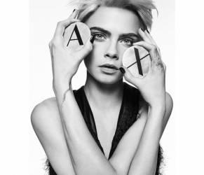 Cara Delevingne testimonial della campagna Ax Armani Exchange FOTO