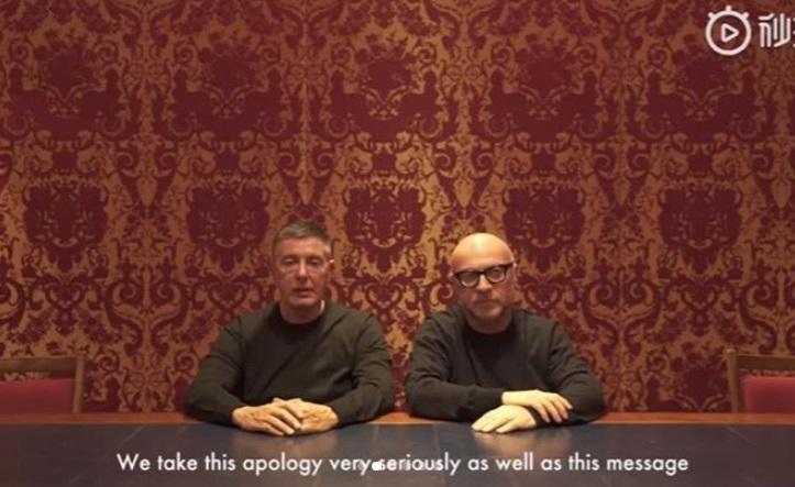 Dolce&Gabbana Cina: dopo il caso diplomatico chiedono scusa in un VIDEO