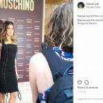 Elisabetta Canalis e Jeremy Scott: selfie insieme a Roma FOTO