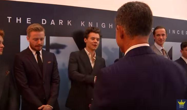 YOUTUBE Harry Styles e il Principe Harry alla prima di Dunkirk