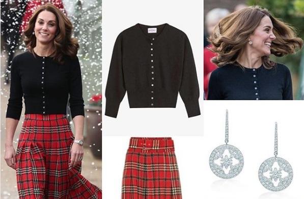 Middleton Natale Tartan Segue La Per Festa Di Trend Il Kate VUqSzGpM