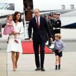 Kate Middleton total white in Polonia: abito Alexander McQueen