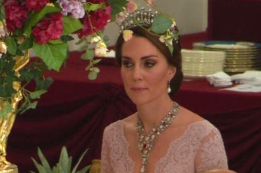 Kate Middleton, collana di rubini e diamanti: ecco a chi apparteneva