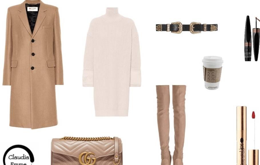 Outfit del giorno: sweater dress e stivali