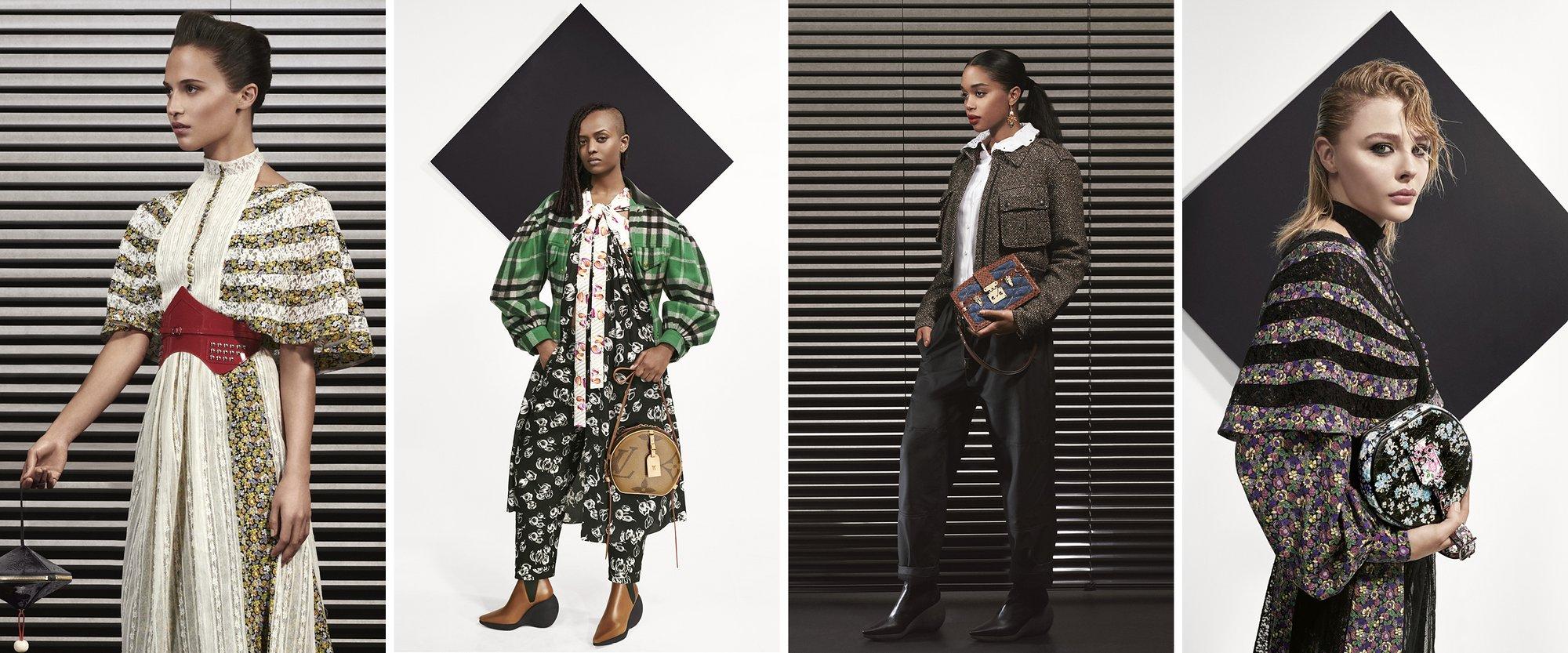 Chi ha bisogno di una sfilata? Nicolas Ghesquière ingaggia le attrici più potenti per il Pre-Fall Lookbook di Louis Vuitton