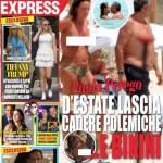 Paola Perego, primo topless della stagione per la conduttrice