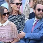 Pippa Middleton: abito in pizzo vedo non vedo a Wimbledon FOTO