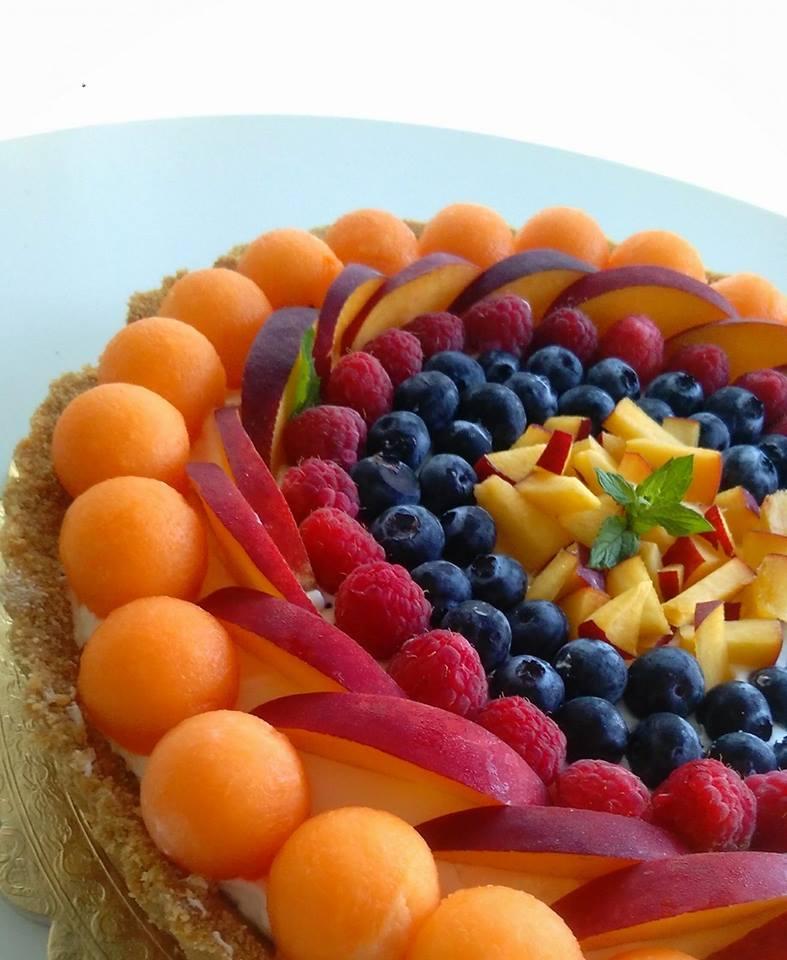 Crostata fresca estiva alla frutta super facile e veloce
