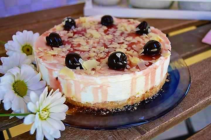 Cheesecake Coppa Rica all'Amarena