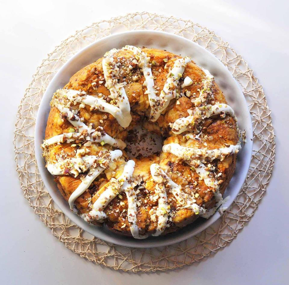Monkey Carrot Cake... La ricetta americana originale!