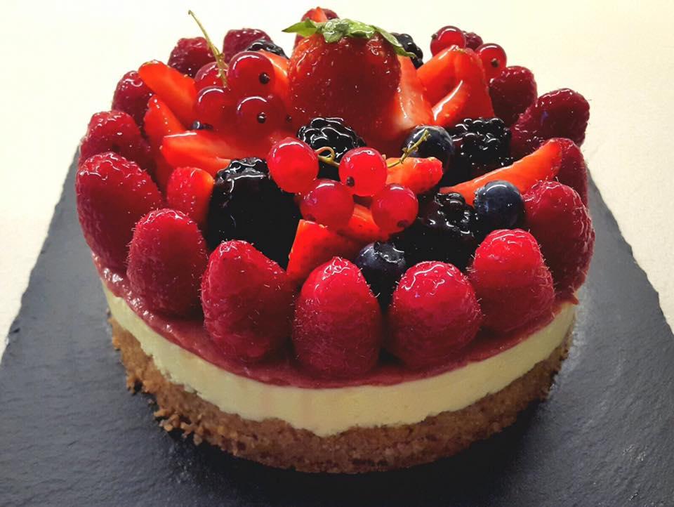 Cheesecake ai Frutti di Bosco senza cottura (Roberto Rinaldini)