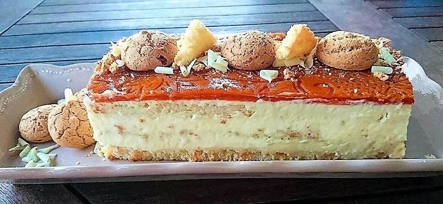 Torta Albicocca e Mascarpone
