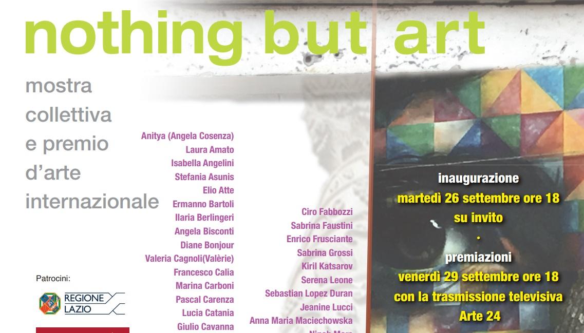 Nothing but Art: a Trastevere l'arte contemporanea collettiva