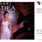 Bella Hadid audace: abito aderente e trasparente FOTO