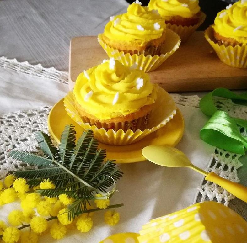 Cupcake dolci alla Crema di Formaggio