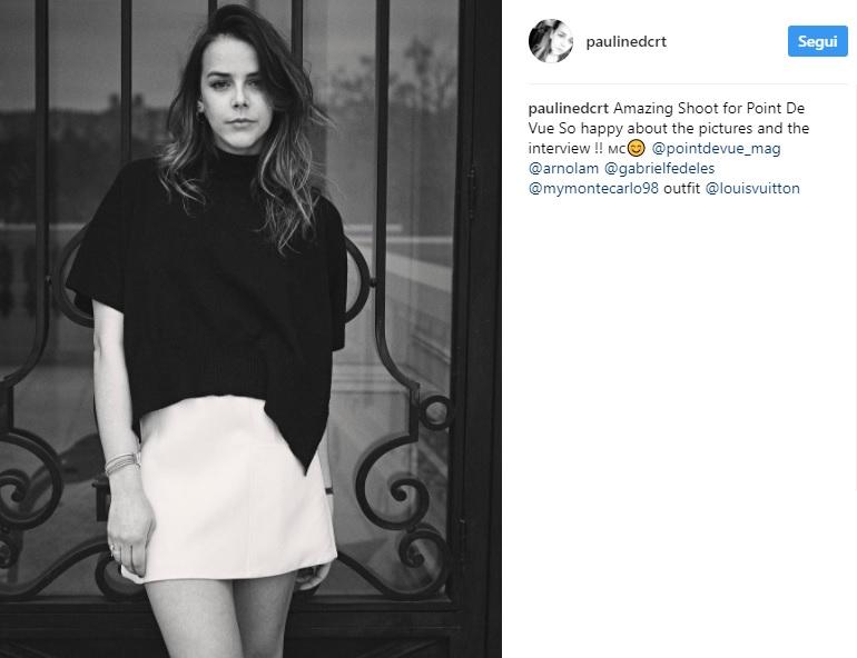 Charlotte Casiraghi, cugina Pauline segue le sue orme FOTO