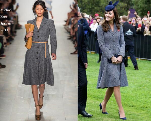 Kate Middleton, Letizia Ortiz passione tweed: look a confronto FOTO