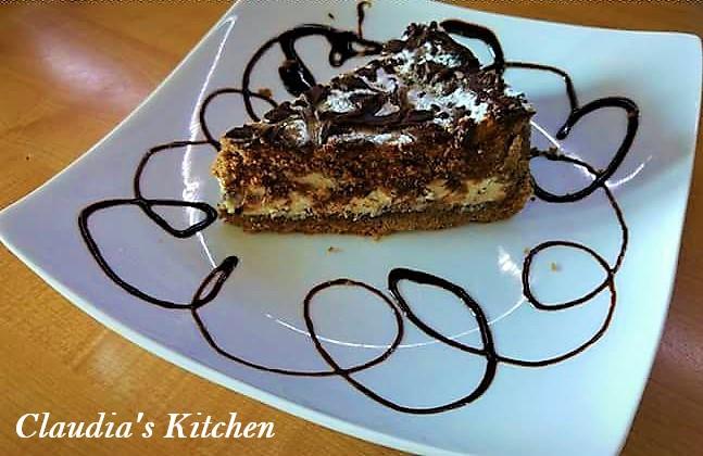 Crostata al Cacao con Ricotta e gocce di Cioccolato Fondente