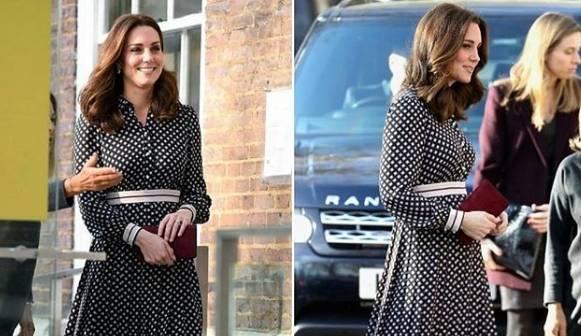 Kate Middleton: ecco cosa nasconde il suo look semplice FOTO