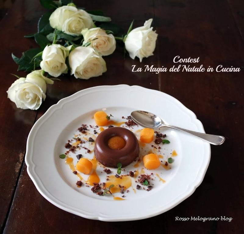 Contest: Mini cremosi al cioccolato e caffè con biscotto di frolla e salsa di cachi (di Elisabetta Giustiniani)
