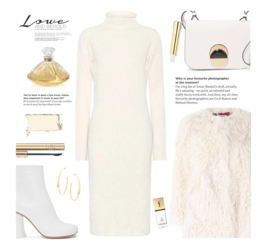Come vestirsi di bianco in inverno: idee di look FOTO